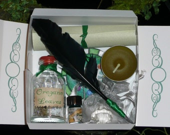 FAIRY Crystal EARTH Elemental MAGIC Spell Kit