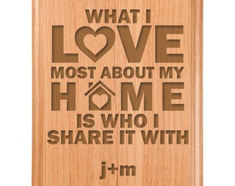 Love Home Plaque