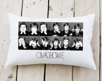 David Bowie Pillow cover