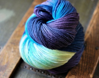 MCN Hand Dyed Sock Yarn - Spring Song Birds