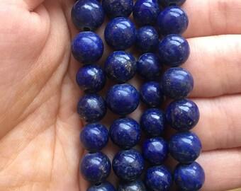 AA+ grade Lapis Lazuli beads