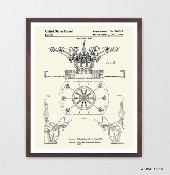 Disneyland Patent - Disneyland Patent Art - Dumbo - Disneyland Art - Disneyland - Disney World Art - Girls Room Art - Girls Room Poster