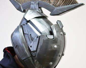 Painted and wearable Titan's helmet Helm of Saint-14
