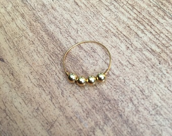 Fine gold plated ring (gold filled)
