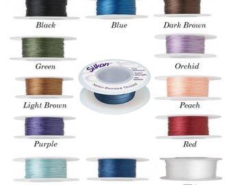 Silkon bonded nylon thread, Silkon bonded nylon thread #1, nylon thread #2 silkon, #3 Silkon bonded nylon thread, silkon nylon thread.