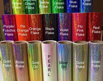 Vinyl - Fantasy Film- Glitter Flake- Holographic- Oil Slick - Crystal