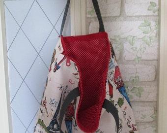 Child bag Zipper Girl Large 40 x 42 cm
