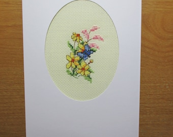 Greeting Card Blue Butterfly
