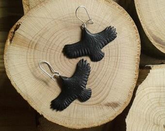Raven Totem earrings