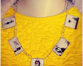 Street Style Bansky Necklace