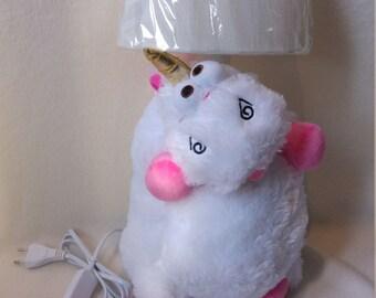 unicorn lamp- nightlight , Gift for girls, Babyshower gift, Pony night light, Baby lamp, Nightlight pony.