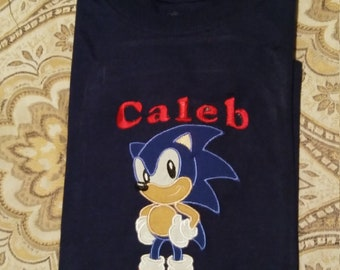 Sonic Hedgehog Shirt