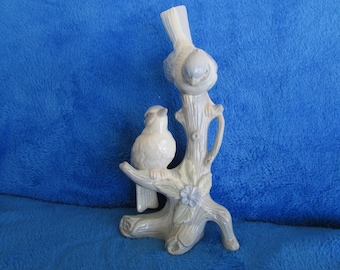 Vintage bird porcelain figurine