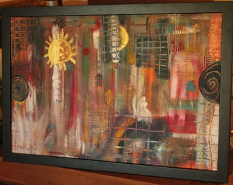 Abstract painting Eastern
