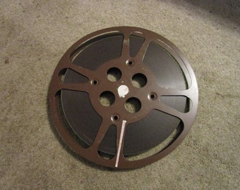 "10 3/4"" 16mm film reels metal"