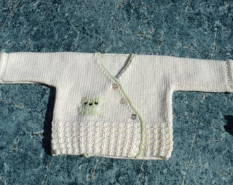 Life jacket baby mixed, 100% Merino Wool.