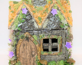 Handmade Fairy House, Fairy Cottage, Fairy Garden