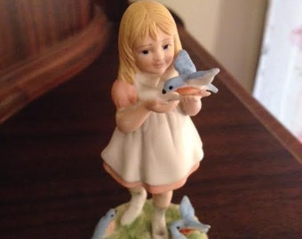 "1980 McClellans ""Alice"" Limited Addition Bisque Figurine"