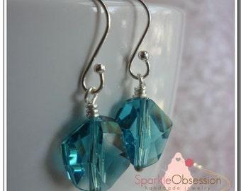 Swarovski Crystal Cosmic Drop Earrings