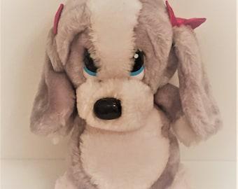 Vintage Sad Sam Teddy Bear Plush Toy