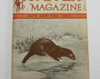 The Trapper Magazine Oct Nov Dec 1955 Issue Date