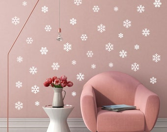 Mini Snowflakes - Wall Decal