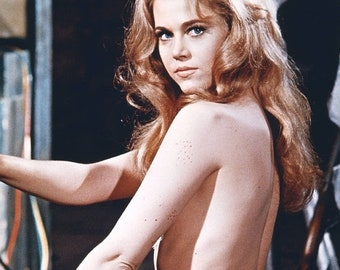 Spring Sales Event: BARBARELLA Movie Poster Jane Fonda XXX
