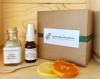 Natural Skin Care Gift Set- Citrus