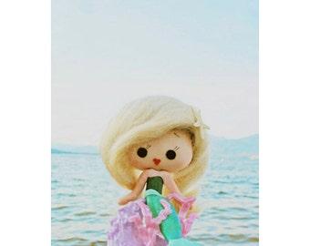 little mermaid print aceo size Beauty Is Fin Deep