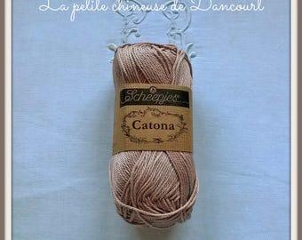 Pink old Catona Mercerized cotton