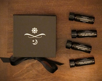 Aftershave Samples - Set of Four with Gift Box