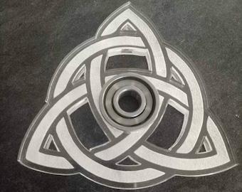 Triquetra - Unique Fidget Spinner - Sacred Geometry