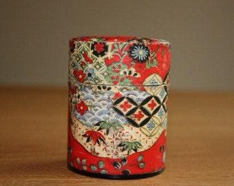 Red Chinese Tea Tin