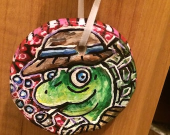 Travis Turtle Ornament