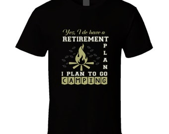 Camping t-shirt for someone special. Camping tshirt for her or him. Camping tee as present. Camping idea gift. Buy a wonderful Camping gift