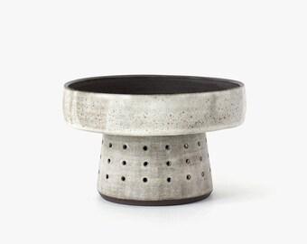 Modern Ceramic Low Pedestal