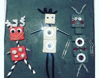 Little Robot Busy Box