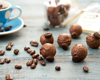 Cappuccino / Espresso Coffee Chocolate Truffle Bag