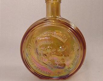 Wheaton NJ First Edition Abraham Lincoln Glass Decanter