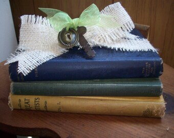 Book bundle - Vintage - Set of  3