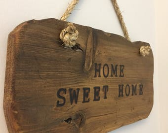 Reclaimed wood, Custom handmade signs