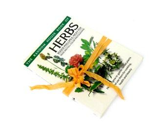 Herbs By Roger Phillips & Nicky Foy, Herb Book, Vintage Herb Book, Herbalist, Medicinal, Holistic, Homepathy