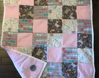 Whimsical Woodland Baby Quilt