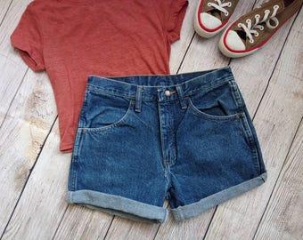 Cutoff Shorts - Rolled Hem
