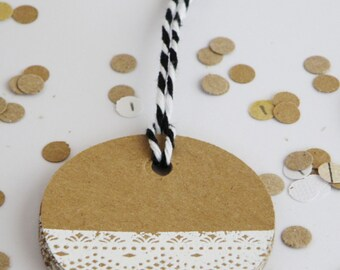 greeting tags 10 pack made from 220gsm kraft card stock comes with 1 meter of twine