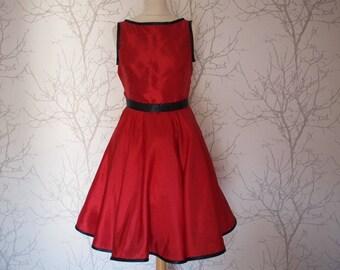 Rockabilly dress, size us10-12