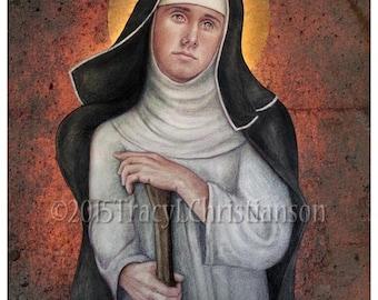 Blessed Margaret of Castello Print, Catholic Art Pro-Life Movement #4207