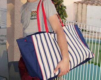 Maxi Beach - family size - XL tote bag