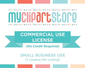 Half Price - COMMERCIAL USE LICENSES - vector graphics, digital clip art, digital images, commercial license