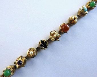 1960s Faux Slide Necklace